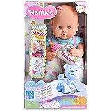 Nenuco - Pink Magic, biberon per bambini e bambine di 1 anno, rosa (Famosa 700012691)