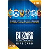 Blizzard Gift Card 100 GBP | PC Code
