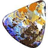 29,29 ct Forma de fantasía (28 x 27 mm) Ópalo de Coroit Boulder Australiano multicolor piedra natural suelta