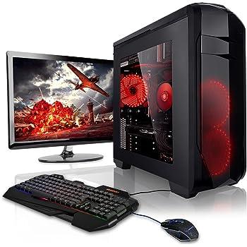 "Megaport Gaming-PC Komplett-PC Vollausstattung AMD FX-6300 6x3,50 • Nvidia GeForce GTX1050 • 22"" LED Bildschirm ASUS • Tastatur+Maus • 8GB • 1TB • Windows 10 • Gamer PC • Gaming Computer • Desktop PC"