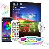 Retroilluminazione LED TV, JESLED 3M Led Striscia, Striscia LED RGB USB con App, Led Monitor 29 Modalità 16 Milioni Colori DI