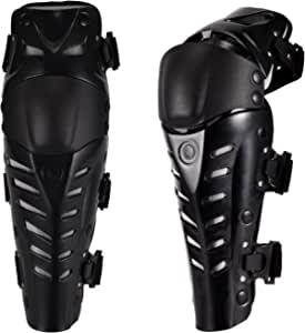 Wildken Knee Pads Protection Gel Cushion And Waterproof Eva Foam Pads Knee Protectors Adjustable Velcro Knee Pads Shin Guard Pads Protector Kit For Motorcycle Bicycle Skateboard Auto