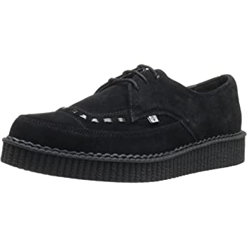 d3ef0a31d75 Demonia CREEPER-602S Royal Blue Suede UK 3 (EU 36)  Amazon.co.uk ...