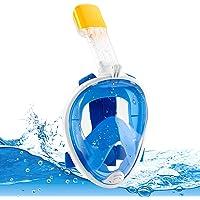Aspiree Tauchmaske Schnorchelmaske Müheloses Atmen Vollmaske Kein Beschlagen Kein Eindringen von Wasser Vollgesichtsmske…