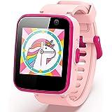 """AGPTEK Smartwatch per Bambini e Ragazzi con Micro SD 8GB, Touchscreen 1.54"""", Telefono, SOS, Sveglia, Fotocamera, Lettore Musi"""