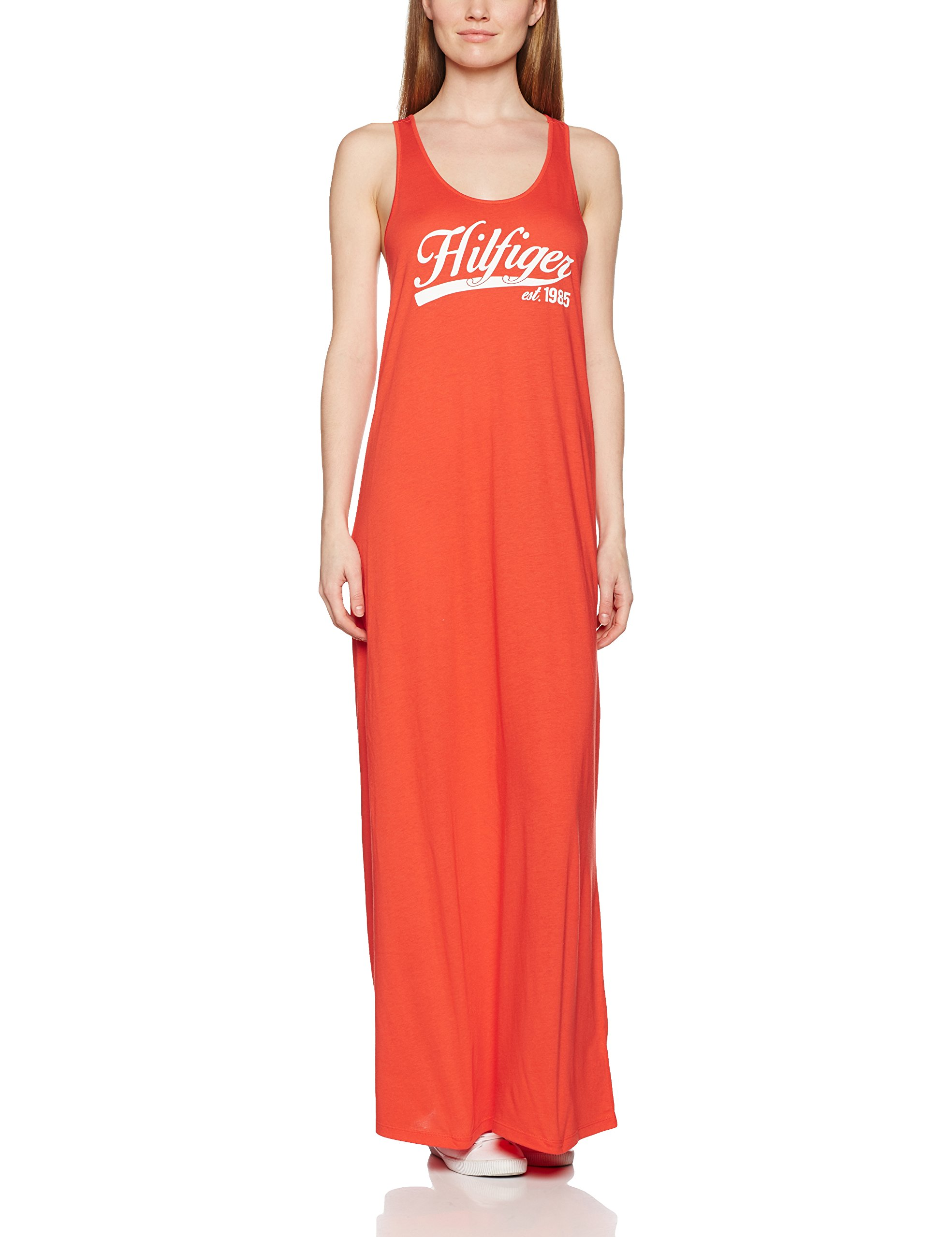 Tommy Hilfiger Kiara Maxi Logo Dress Polo para Mujer