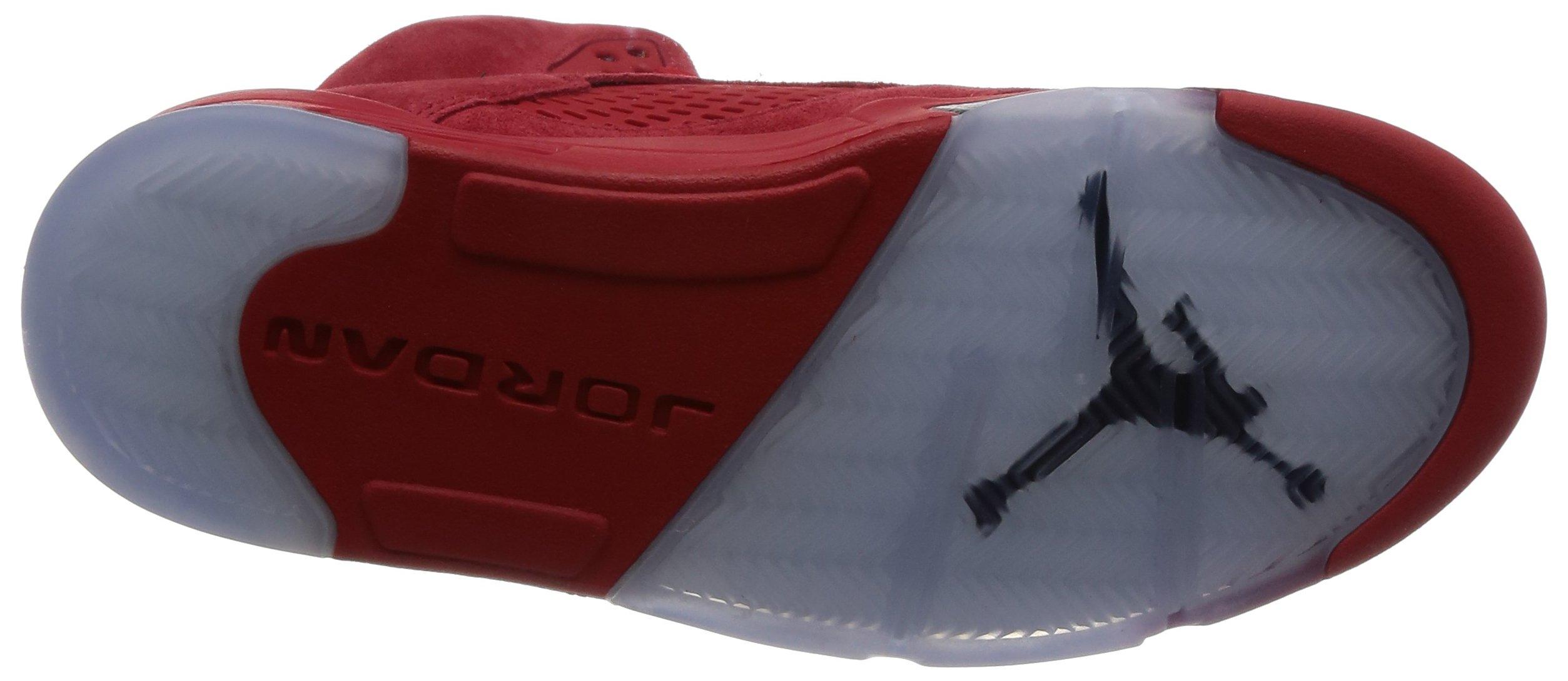 71u6HMeGMQL - Nike Air Jordan 5 Retro 'Red Suede' - 136027-602 - Size 9 -