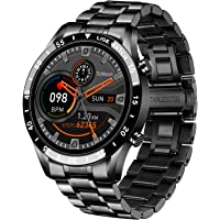 """LIGE Smartwatch Herren, 1,3"""" Zoll Touchscreen Fitness Tracker IP67 wasserdichte mit Blutdruck Herzfrequenz Schlafmonitor…"""