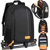 TARION Camera Backpack, Photography Backpack with Large Capacity, Padded Insert, 15'' Laptop Compartment, Professional…