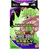 Dragon Ball Super Card Game Deck de Démarrage de 51 Cartes 'Rising Broly' -Version Francaise SD08, 0