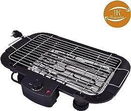 IK Electric Barbeque Grill Tandoor for Outdoor / Indoor Cooking (Black)