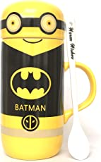 Premium Quality Bat Man Character Milk Tea Cup/Mug for School Children(Ceramics)