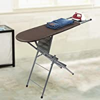 Peng Essentials Ironing Board with Step Ladder (Brown)