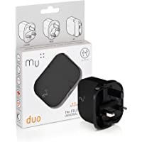 Mu Portable Charger by Mu   British Duo Charger   Universal Adapter iPhone Charger for All Smart Phones and Tablets   2…