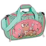 Fabrizio Kinder Freizeittasche Rekitz Blumen Reisetasche REH rosa grün D2OTI206L EIN Geschenk zu Weihnachten, Geburtstag, Val
