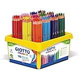 Giotto- Schoolpack 192 Pz Stilnovo-16 X 12, Colori Assortiti, 5234 00