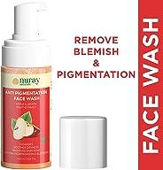 Nuray Naturals Vegan Anti Blemish and Pigmentation Removal Face Wash, 100 ml