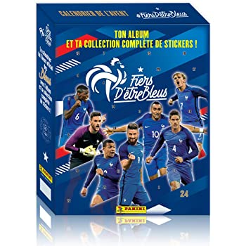 Panini France SA SA- Equipe de France Calendrier de l'Avent Contenant 1 Album, 2321-094, Non