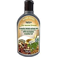 Sedum naturel à base de plantes Extrait pour Sauna - Sauna Infusion aromatique basilic, Wormwood, gingembre, Extraits…