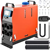 FlowerW Diesel Air Heater 12V 5KW Air Diesel Parking Heater 4 Holes Car Heater with Digital Switch for Truck Boat Car…
