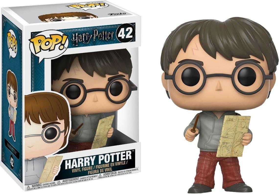 Funko Pop Harry con el mapa del merodeador (Harry Potter 42) Funko Pop Harry Potter