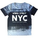 Aelstores Camiseta Urbana de Mangas Cortas para niños Niños nuevos Urban NYC Camiseta de Verano Brooklyn Tops Edades 3-14 año