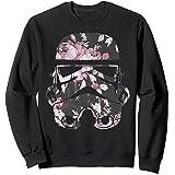 Star Wars Stormtrooper Floral Helmet Sweatshirt