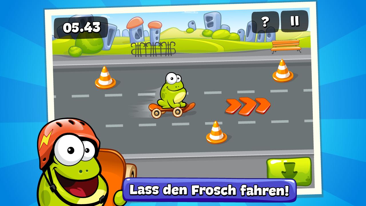 Tap The Frog HD Screenshot