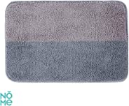 NOME Rubber Carpet Bathroom Kitchen Living Room Nursery Door Front Rugs, Multicolors (coffee+grey)