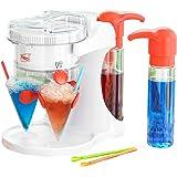 Neo® Ijssneeuw kegel Slushie Slushy Slush Maker IJskrabber Drankjes Machine Elektrische met 4 rietjes & 4 kopjes