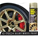 Auto Inpart Drift Gold E-TECH Alloy Wheel Paint Chip resistant Wheel refurb