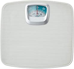 Gadget Tree Smith Bolt Analog weight Machine For Human Body, Full Iron Body Mechanical Weighing Scale (White) Cream