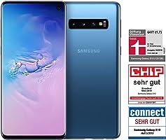 Samsung Galaxy S10 Dual Sim - 128GB, 8GB RAM, 4G LTE, Prism Blue, UAE Version