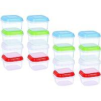 ARSUK BPA en plastique réutilisable récipient hermétique conteneurs avec couvercle empilable au micro-ondes congélateur…