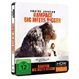 Rampage: Big Meets Bigger 4K Ultra HD Steelbook [Blu-ray]