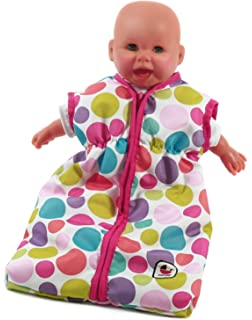 Babypuppen & Zubehör Pinky Balls Bayer Chic 2000 Puppenschlafsack Puppen & Zubehör