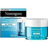 Neutrogena Hydro Boost, Crema Viso Gel, Acido Ialuronico Idratante , Pelle Secca e Sensibili, 50 ml