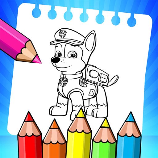 Puppy Patr­ol  Coloring book for kids