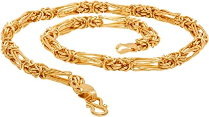 Voylla Gold Plated Chain for Men (8907617434780)