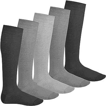 Footstar - 5 paia di calze al ginocchio EVERYDAY! Disponibile in molti colori di tendenza