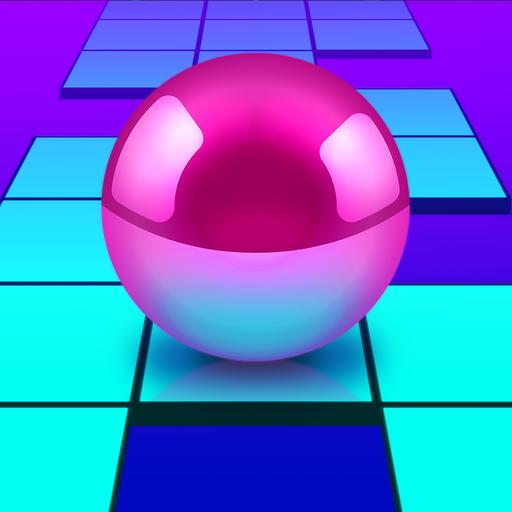 Ball Road Jump - Bounce Tiles Jumping: Bälle Sprung Spiele, wo Kugel springen, von Wegs nicht fallen, jedes Hindernis vermeiden, und man Aufmerksamkeit, Geschicklichkeit, Reaktion verwenden muß
