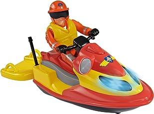 Feuerwehrmann Sam Juno, Jet Ski Con Figura