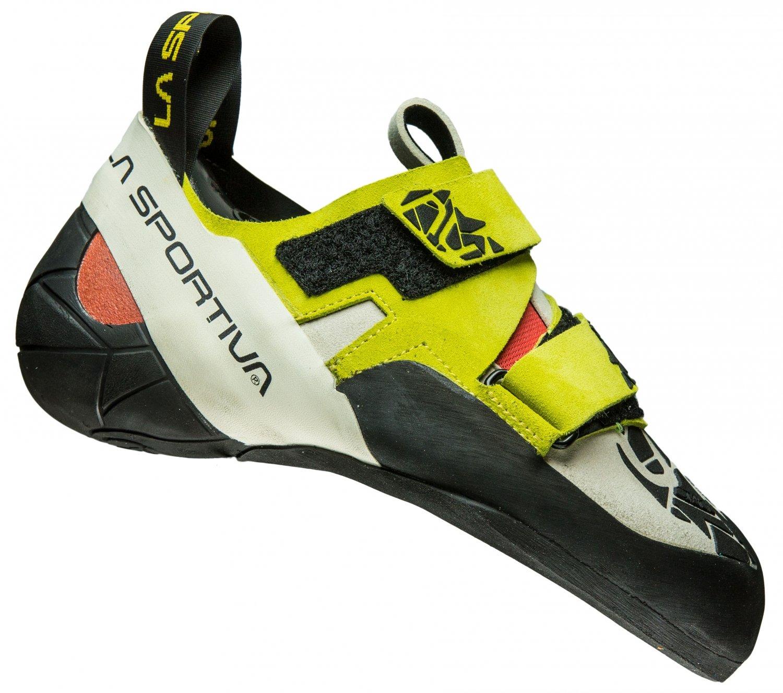 La Sportiva Otaki Gelb, Damen Kletterschuh, Größe EU 32.5 - Farbe Sulphur-Coral Damen Kletterschuh, Sulphur - Coral, Größe 32.5 - Gelb