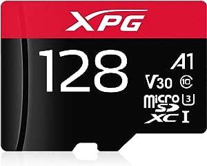 Adata Xpg Gaming 128 Gb Microsdxc Memory Card Uhs I Computers Accessories