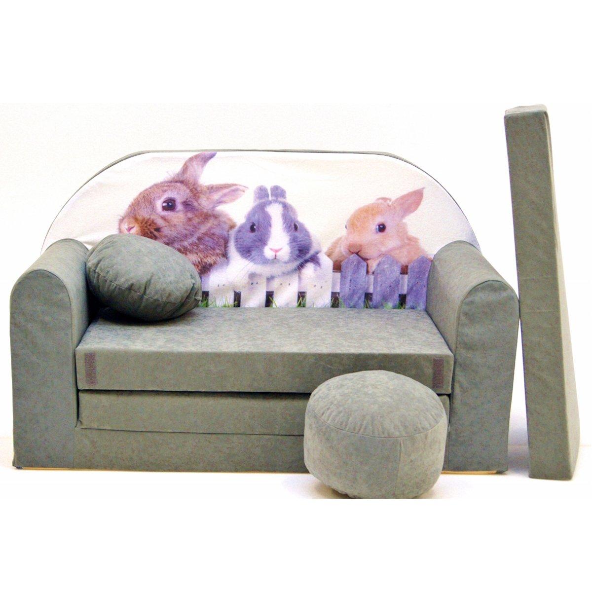 A25�bambini divano pieghevole divano letto divano sofa Mini Couch 3�in 1�Baby Set + sedia per bambin