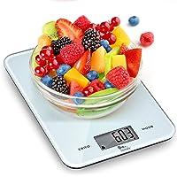 himaly Balance Cuisine Balance de Cuisine numérique Balance Multifonctionnelle Numérique-De 1 g à 10 kg-en Verre trempé…