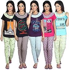 meril girls night suit pyjama sets