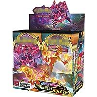 NOEARR 360 pièces PokAmon TCG: Sword and Shield Darkness Ablaze Booster Display, PokAmon Cards Pack, PokAmon Cards vmax…