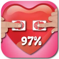 Fingerabdruck-Liebes-Scanner