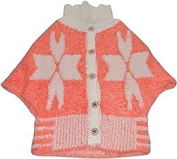 Baby Bucket sweater Infant woolen Kids Girls cotton poncho baby coat Shrug Style Cardigan Sweater